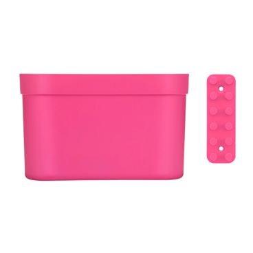 organizador loftup coza grande com barra rosa