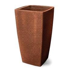 vaso plastico trapezio ferrugem 90