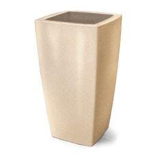 vaso plastico trapezio areia 90