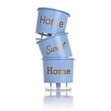 vaso autoirrigavel wishes home azul vertical