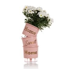 vaso autoirrigavel wishes home rosa vertical