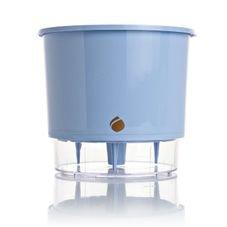 vaso autoirrigavel raiz azul