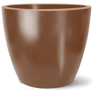 vaso classic redondo ferrugem