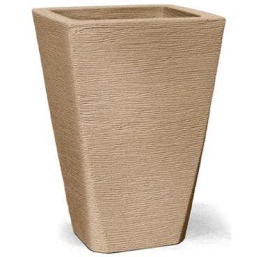 vaso grafiato trapezio areia