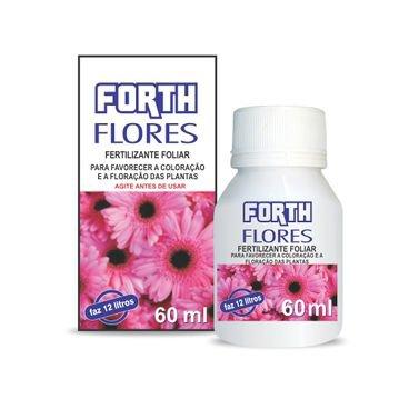 fertilizante foliar concentrado liquido flores floracao forth 60 ml