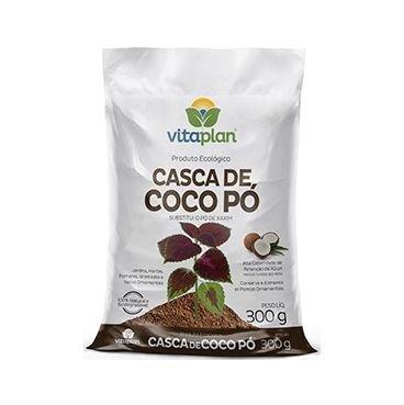 casca de coco em po 300g