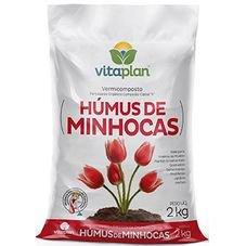 humus de minhocas 2kg