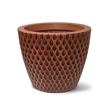 7302501 23 vaso acqua redondo 29 cobre