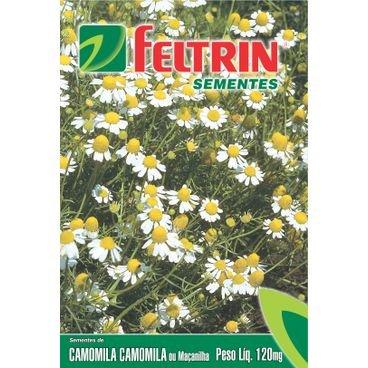 semente camomila macanilha feltrin