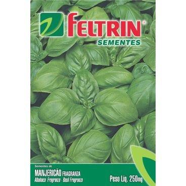 semente manjericao fragranza feltrin