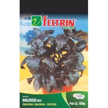 semente manjericao feltrin roxo