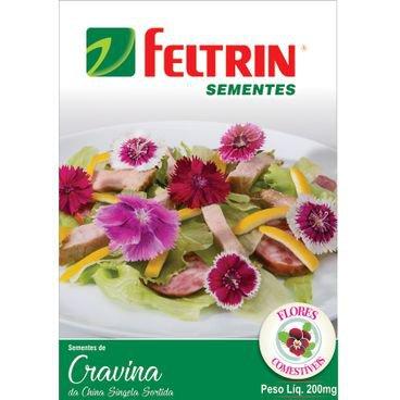 semente cravina comestivel feltrin