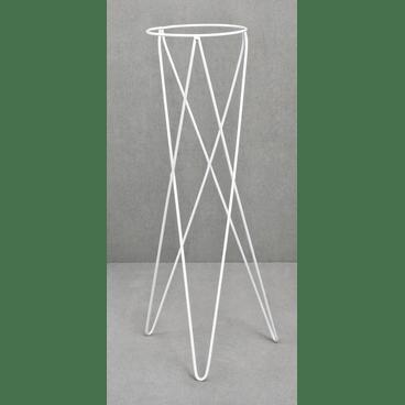 tripe metalico branco raiz