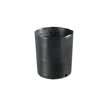 vaso embalagem mudas nutriplan 2 8 litro preto 1 unidade