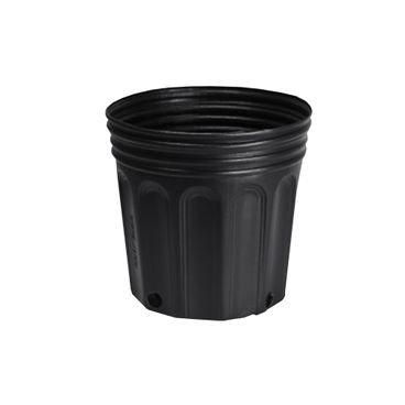 vaso embalagem mudas nutriplan 3 6 litro preto 1 unidade