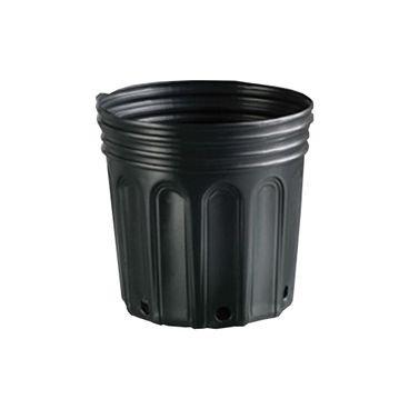 vaso embalagem mudas nutriplan 8 litro preto 1 unidade