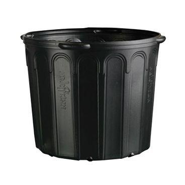 vaso embalagem mudas nutriplan 25 litros preto com alca 1 unidade