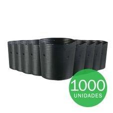 vaso embalagem mudas nutriplan 1 litro preto 1000 unidades