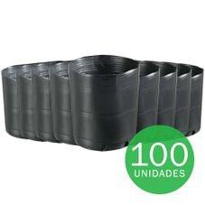 vaso embalagem mudas nutriplan 2 8 litro preto 100 unidades