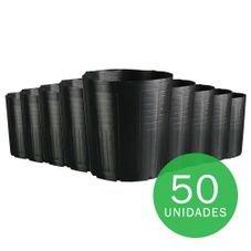 vaso embalagem mudas nutriplan 14 3 litros preto 50 unidades