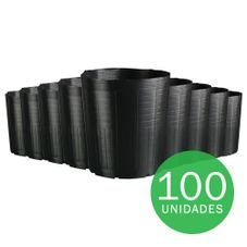 vaso embalagem mudas nutriplan 14 3 litros preto 100 unidades