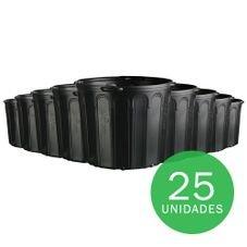 vaso embalagem mudas nutriplan 25 litros preto com alca 25 unidades