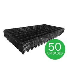 bandeja para semeadura nutriplan 128 celulas fina 50 unidades