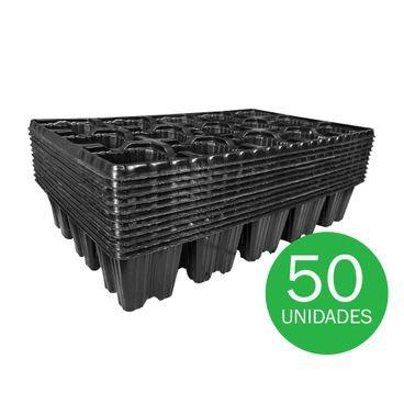 bandeja para semeadura nutriplan 15 celulas 2134 baixa 50 unidades