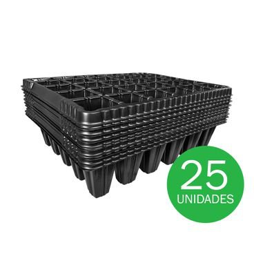 bandeja para semeadura nutriplan 30 celulas 25 unidades