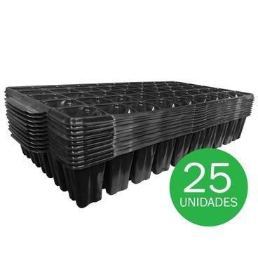 bandeja para semeadura nutriplan 50 celulas quadrada 2854 25 unidades