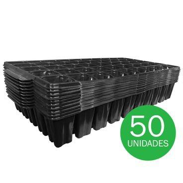 bandeja para semeadura nutriplan 50 celulas quadrada 2854 50 unidades