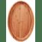 gamela oval bamboo mor 41 frente