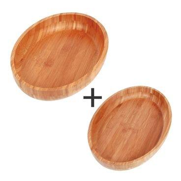 kit 2 gamelas mor bamboo 41x27 33x23