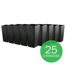 07 embalagem muda 7 litros preto 25 unidades