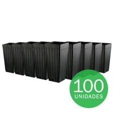 07 embalagem muda 7 litros preto 100 unidades