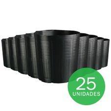 embalagem muda 25 litros sem alca preto 25 unidades