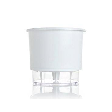 vaso autoirrigavel raiz n02 branco