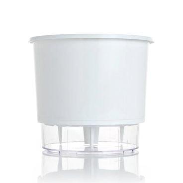 vaso autoirrigavel raiz n04 branco