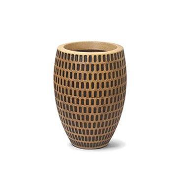 vaso maia oval 30 envelhecido