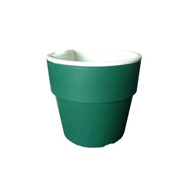 vaso autoirrigavel plantar verde escuro n02