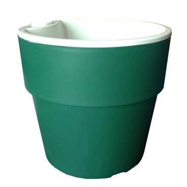 vaso autoirrigavel plantar verde escuro n04