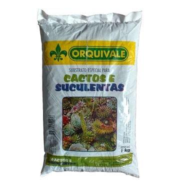 substrato especial cactos suculentas orquivale 1kg