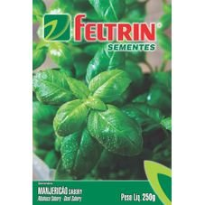 semente manjericao sabory feltrin 250mg