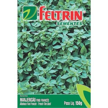 manjericao verde fino frances feltrin 150mg