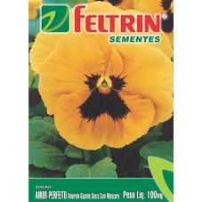 semente amor perfeito amarelo gigante suica 100g