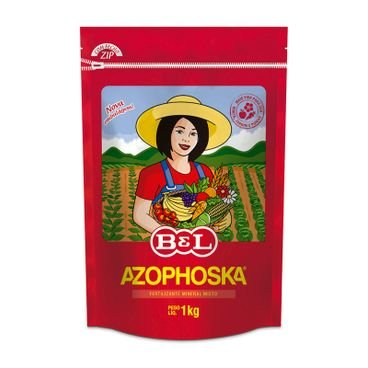 fertilizante adubo quimico azophosca 1kg