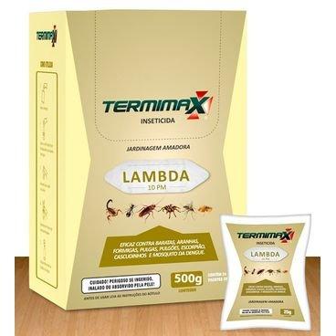 lambda inseticida jardinagem amadora 500g