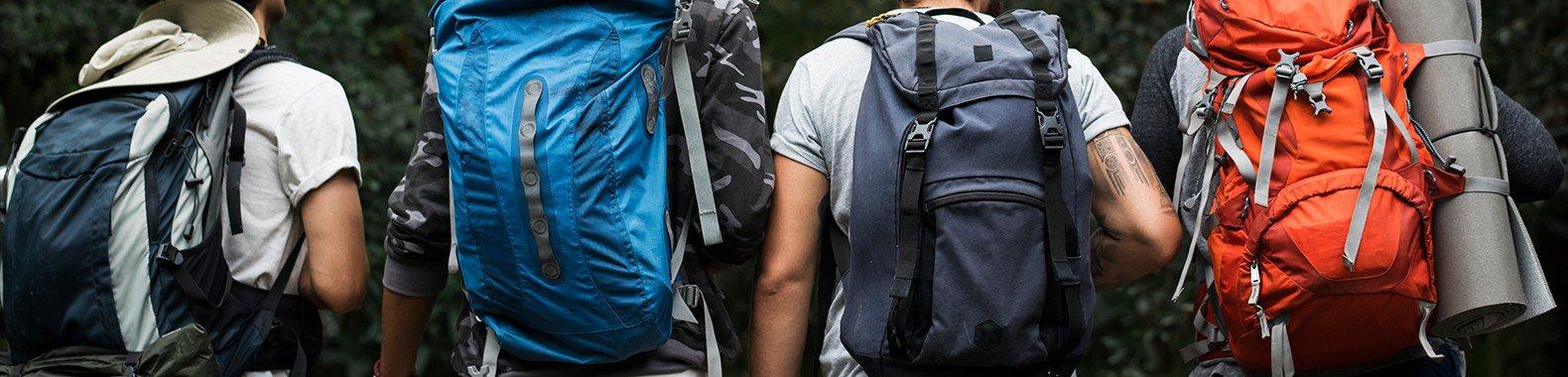 mochila barraca saco de cormir trekking acampar