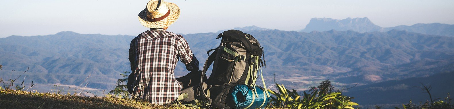 mochileiro acampar trekking caminhada escalada acampamento