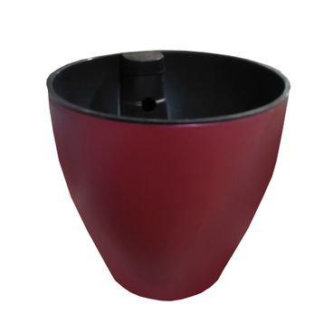 vasos acetinado vermelho